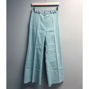 VTG 70s Super High Waist Bell Bottom Flare Slacks